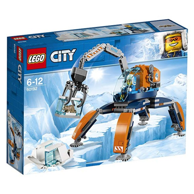 Lego Crawler Arctic 60192 City Ice vm08nNw