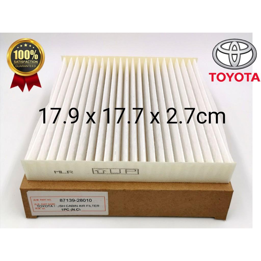 CAFNDTR - TOYOTA RUSH / NAUTICA DENSO CABIN AIR FILTER ( PC ) 87139-28010