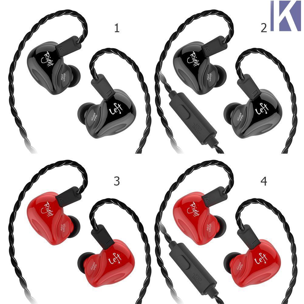 KZ ZS4 Earphones 1DD+1BA Hybrid technology HIFI Stereo Headset In Ear Monitor