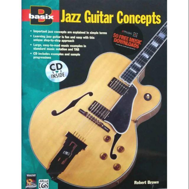 Basix Jazz Guitar Concepts