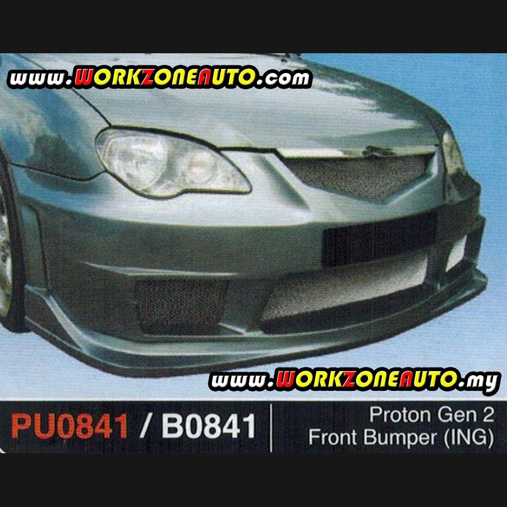 B0841 Proton Gen-2 Fiber Front Bumper (ING)