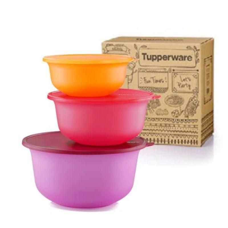 Tupperware Aloha Bowl Set