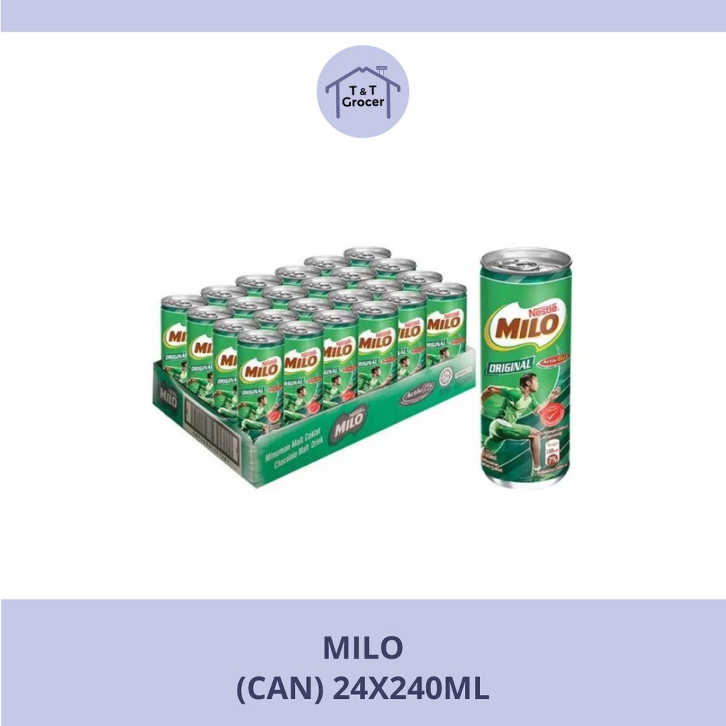 Milo Original Can (24x240ml)