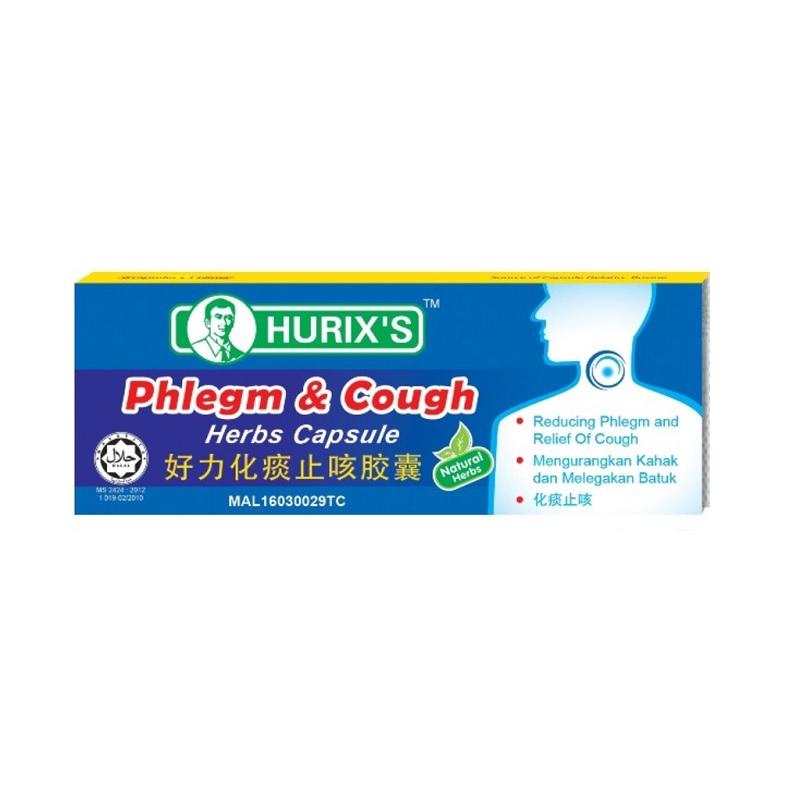 Hurixs Phlegm & Cough Capsule 6s