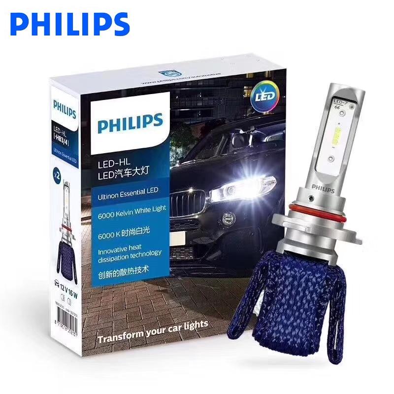 Philips Car LED Headlight 9005 9006 HB3 HB4 12V 6000K