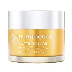 [Ready Stocks] nutrimetic Nutri-Rich Oil with Apricot Kernel Oil (1) 60ml
