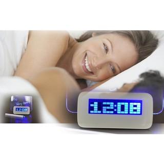 Fluorescence Message Board Alarm Clock USB Digital Luminous