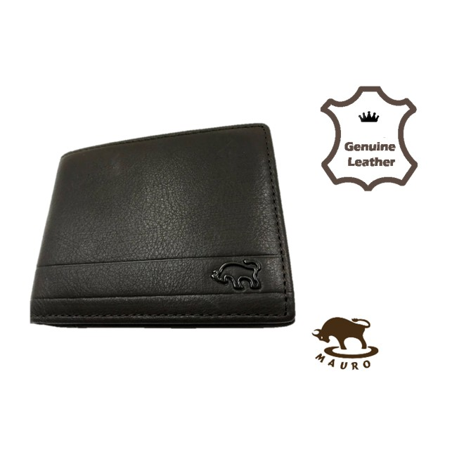 Mauro Design Genuine Leather Men Wallet 💼