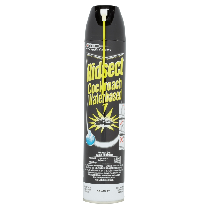 Ridsect Cockroach Waterbased Aerosol 600ml