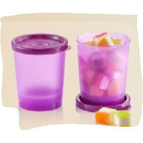🔥READY STOCK🔥  Tupperware StayCool Duo (2pcs) 180ml / Lucky Duo / Stay Cool