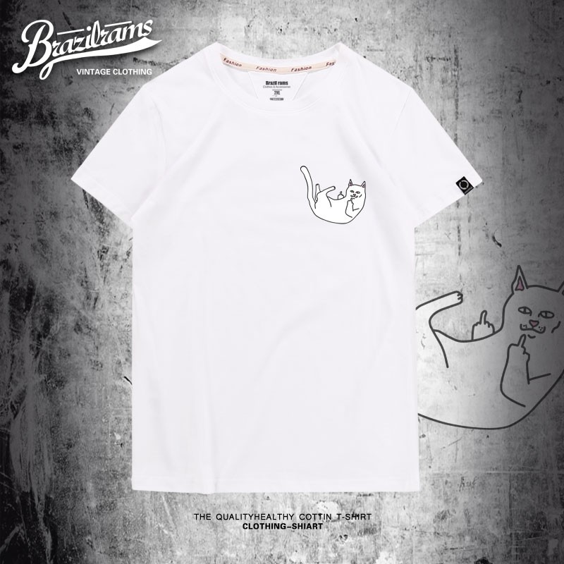879d5ff75ab cat shirt - T-shirts   Singlets Online Shopping Sales and Promotions - Men s  Clothing Aug 2018