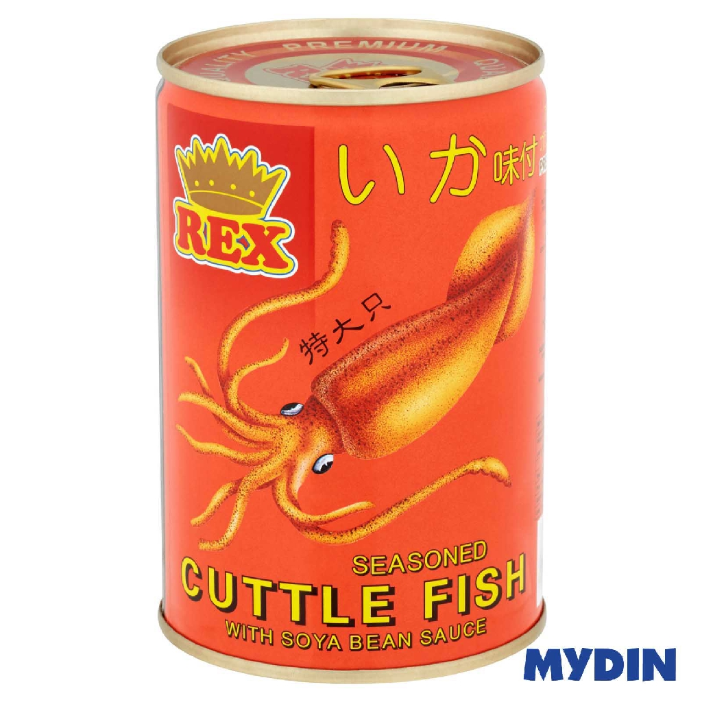 Rex Cuttlefish in Soy Sauce (425g)
