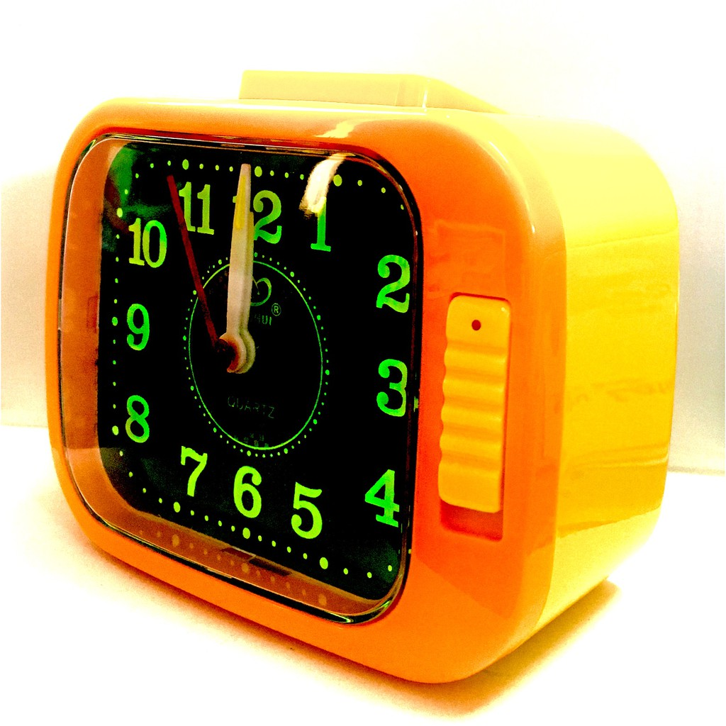 Globe Alarm Quartz Clock Loud Sound With Night Light BH108G