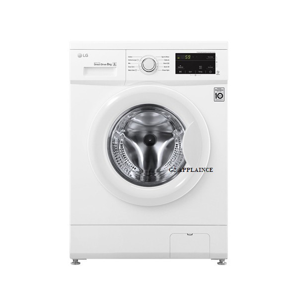 LG 8kg FRONT LOAD Washing Maching (Ready Stock+Fast &Safe Delivery) WD-MD8000WM