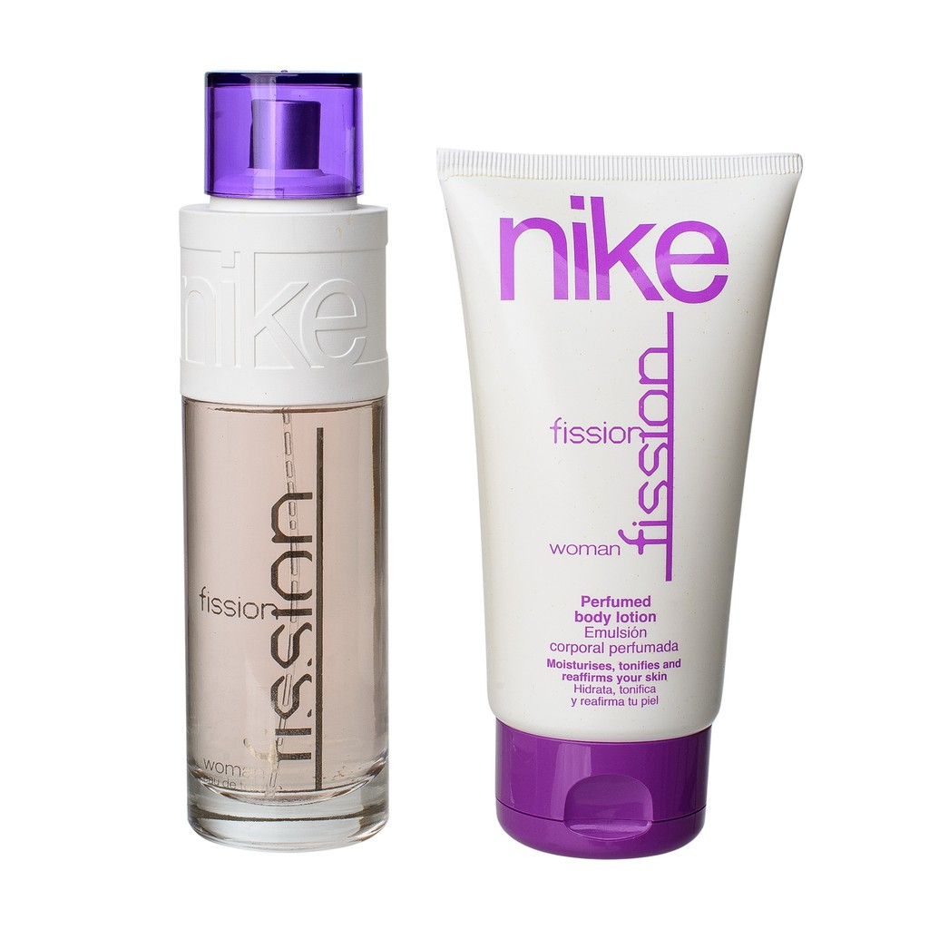 Nike Gift Set (BOX) WOMAN 100ml + 150ml (Fission + Lotion) | Shopee Malaysia