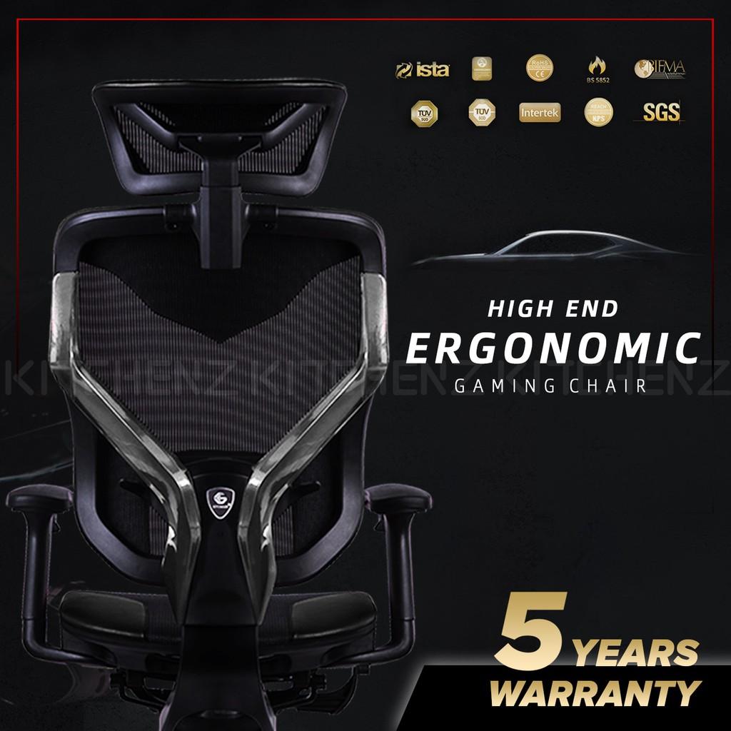 (FREE SHIPPING) GTChair GR-V7-X / PU Leather /Y Frame Ergonomic Gaming Chair / Boss Chair / Gaming Chair - GTC-GC-V7X