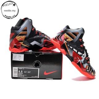 best website 07248 d1e1f Original [Spot] 100% Original Nike LeBron James 11 High-top Basketball  shoes -509
