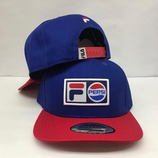 58e84b83d2eb5 Cap ReadyStok Malaysia Fila x Pepsi