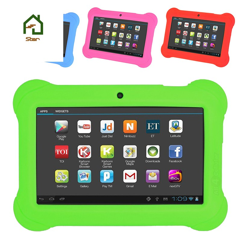 4GB Android 4 4 Wi-Fi Tablet PC Beautiful 7 inch Five-Point Multitouch  Display - Special Kids E