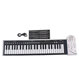61 Keys 88 Keys Roll Up Piano Flexible Soft Electronic