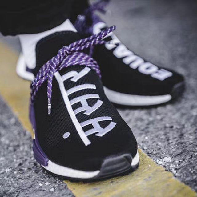 ??Ready Stock?? Pharrell Willams adidas Originals[Holi Powder Dye] Hu NMD Trail