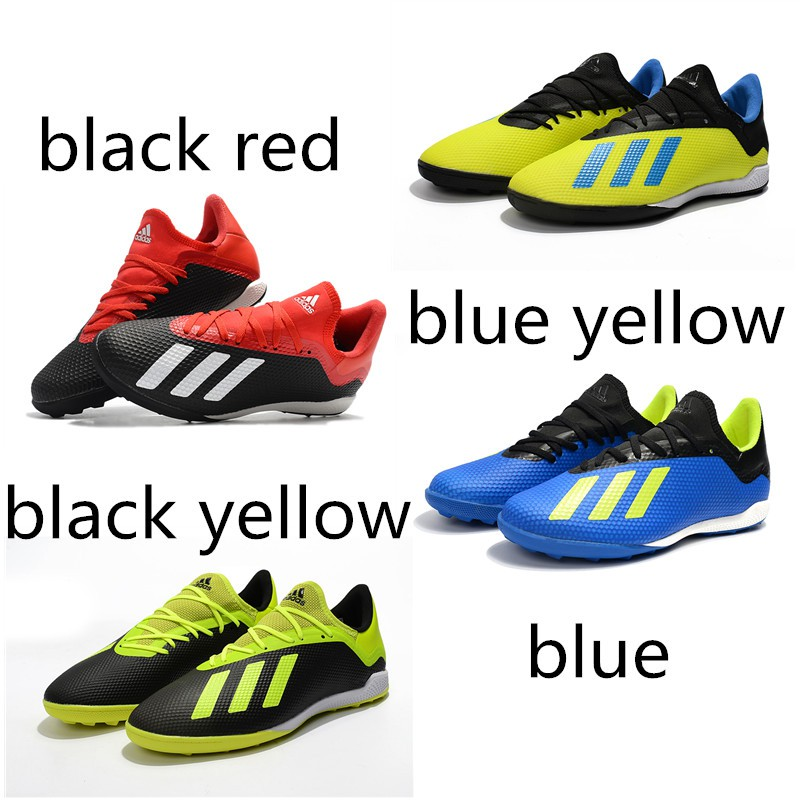 Adidas X Tango 18.3 TF Futsal Shoes Soccer Shoes Training Shoes 40 44 High quality soccer shoes