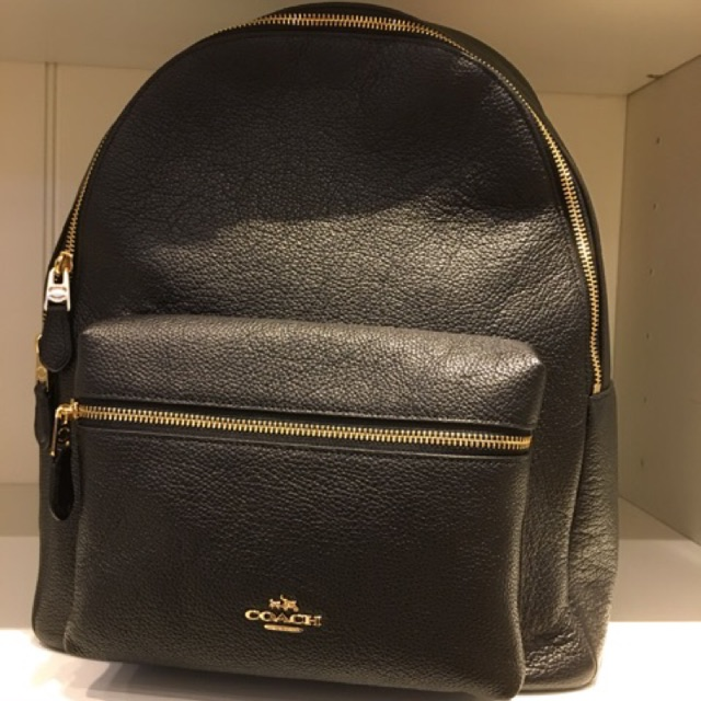 ddcf28098e94d ... ireland coach f38263 mini charlie backpack in pebble leather shopee  malaysia 2a0d3 9bd20