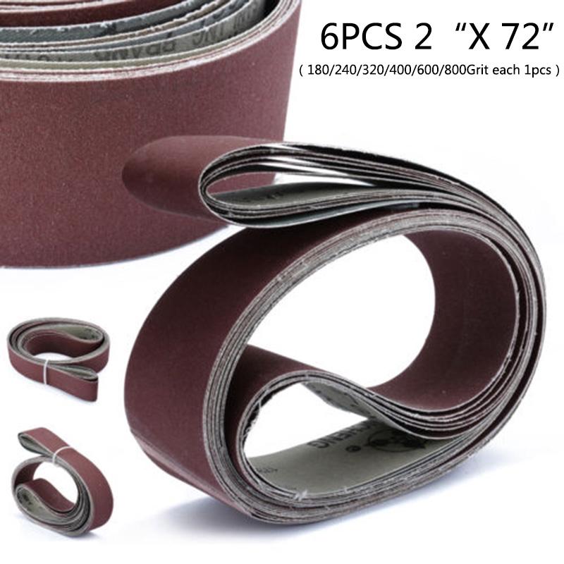 100% Quality New Woodworking 5 Pcs 457x13mm #40 Grit Abrasive Sanding Belt Sander Sandpaper Abrasive Tools