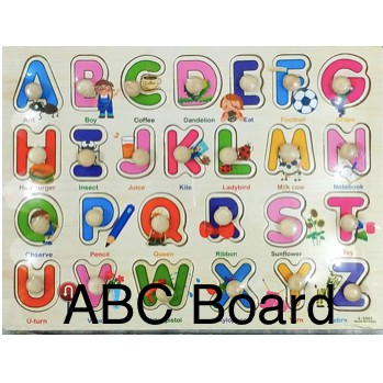 Children learning board