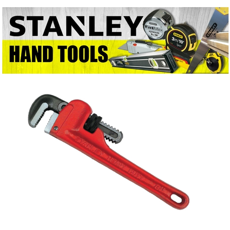 STANLEY PIPE WRENCH CUTTING TOOLS EASY  SAFETTY