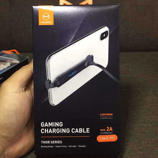 [READY STOCKS] MCDODO GAMING CHARGING CABLE