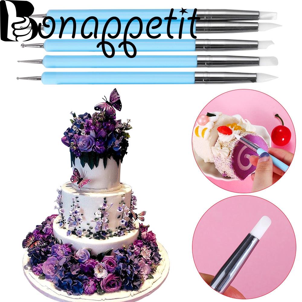 Sugarcraft Pastry Tool Silicone Brush Fondant Decorating Cake Styling Pen