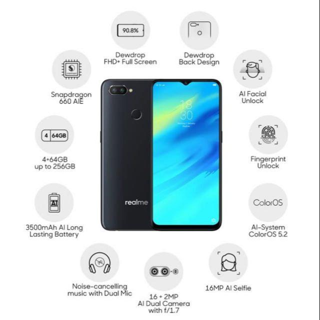 Realme 2 Pro Price in Malaysia & Specs | TechNave