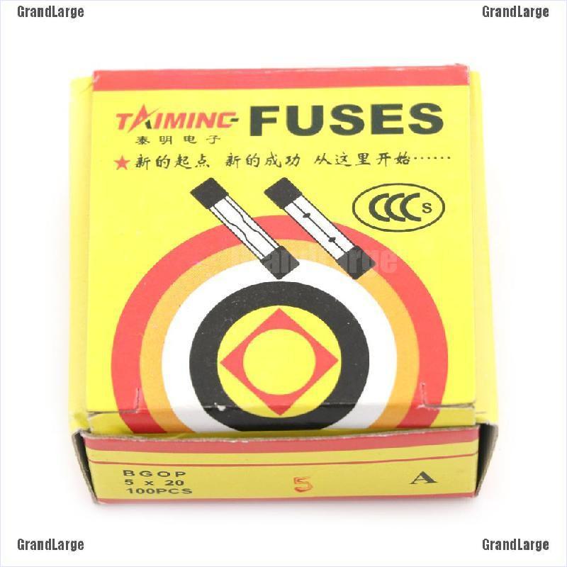 5Pcs 2A FAST Blow Fuse 5x20mm F2AL250V 2 Amp 250V