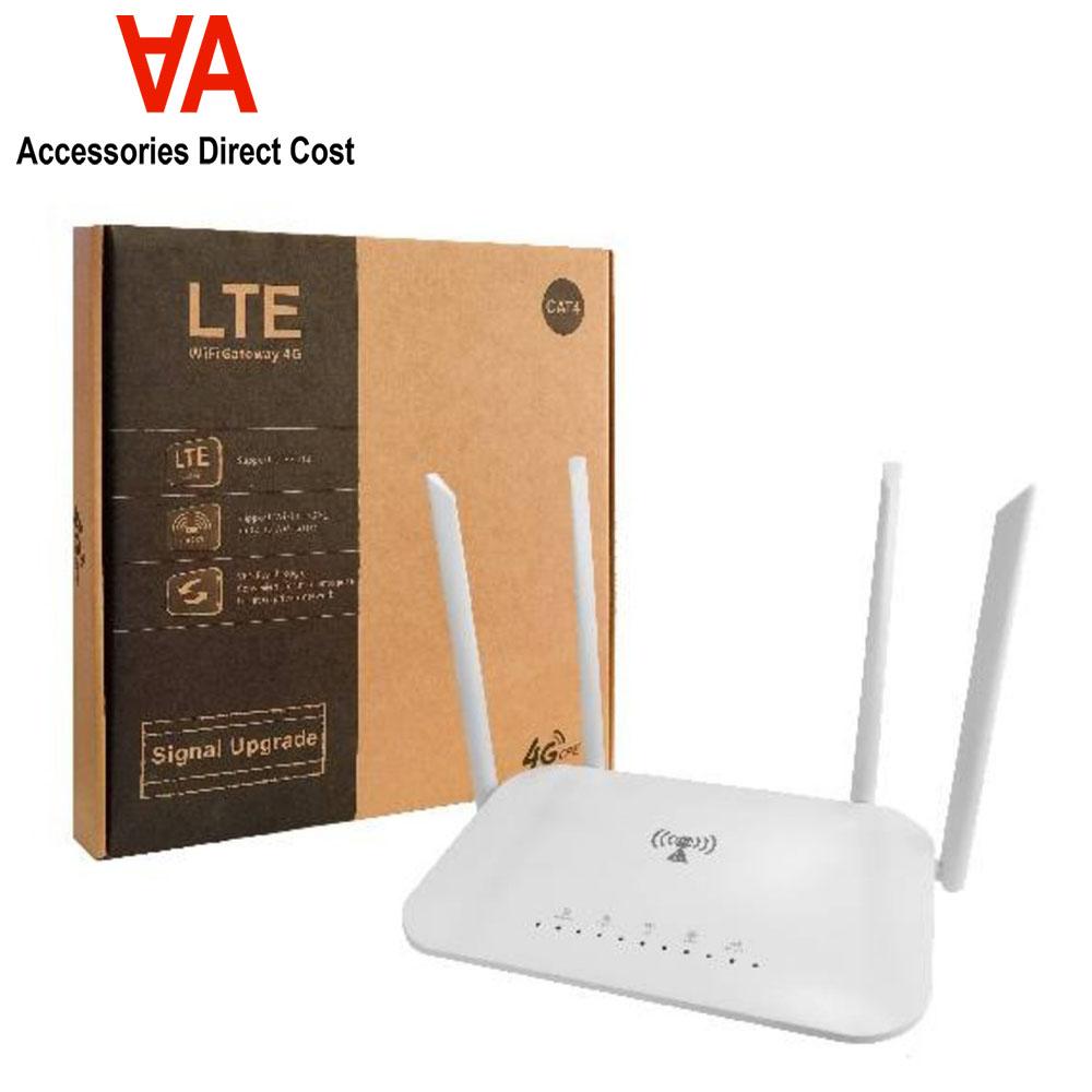 Wifi Hotspot Unlimited MOD LC117 LTE CPE 300m CAT4 32 wifi users RJ45 WAN LAN wireless 4G SIM card wifi router modem