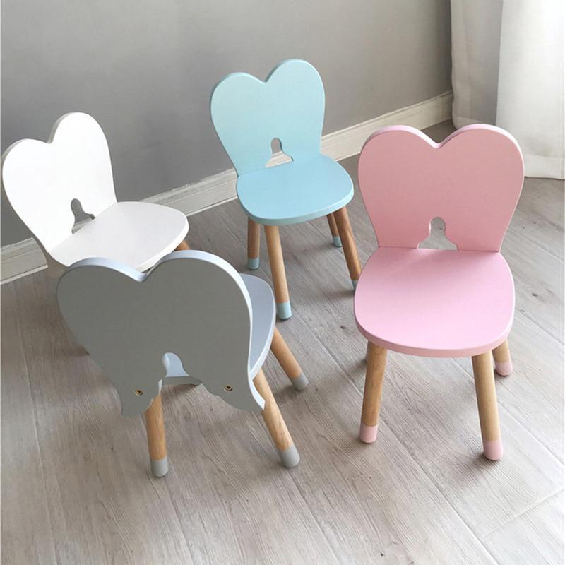 Wondrous 100 Solid Wood Kids Animal Chair Children Furniture Bunny Vanity Stool Machost Co Dining Chair Design Ideas Machostcouk