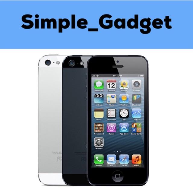 Apple iPhone 5 16GB Black White  3700327cd3