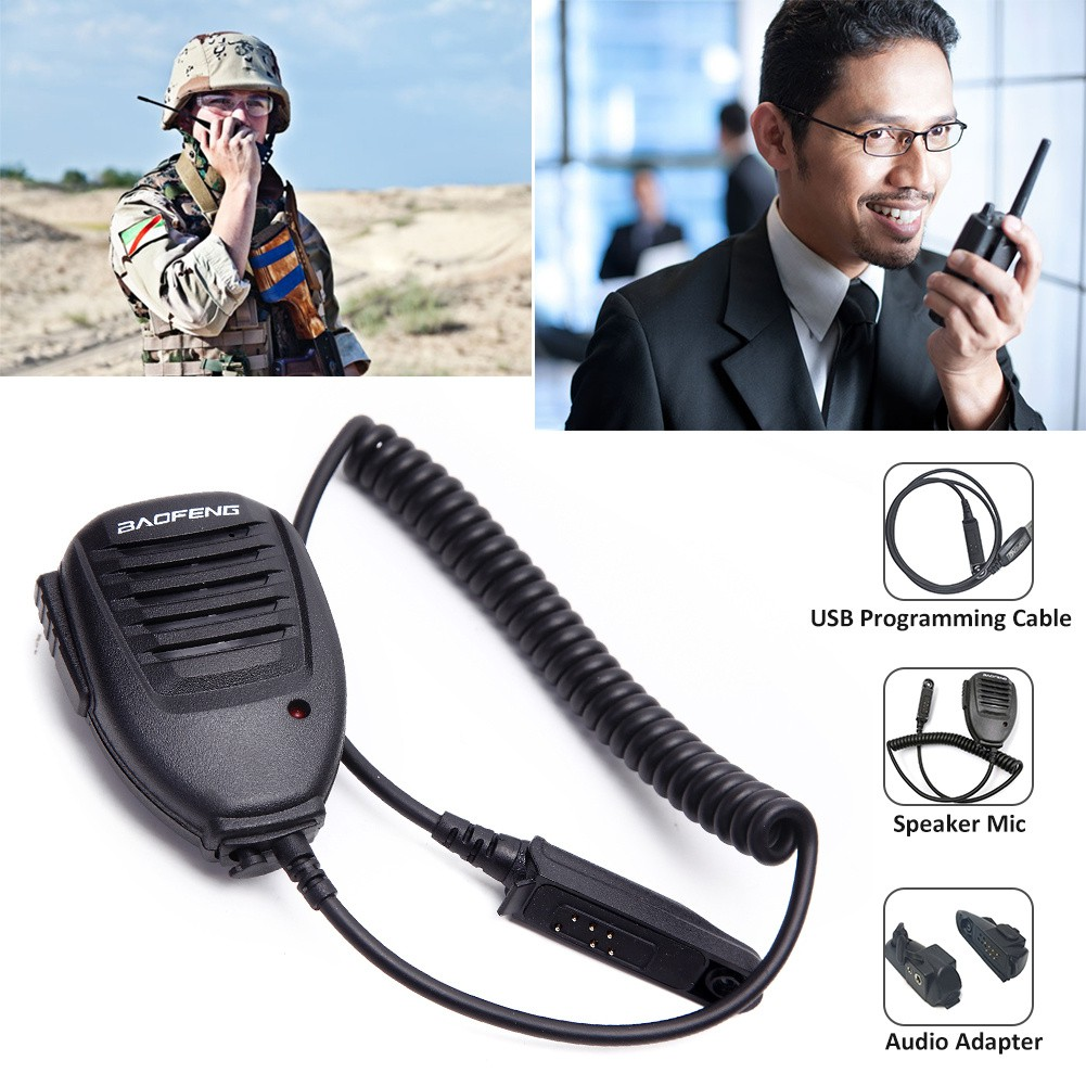 M Walkie Talkie Audio Adapter for Baofeng BF-9700//BF-A58//BF-UV9R Two Way Radio