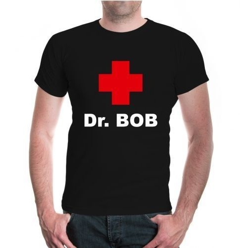 Men S Mens Kurzarm Dr Bob Dress Dschungelcamp Doktor Funshirt 100 Cotton Men S T Shirts