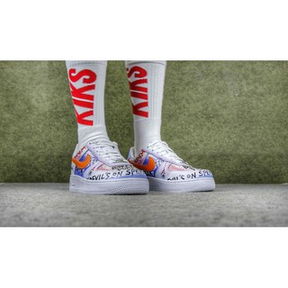 One X Force Nike Low Running Vlone Customs Pauly Shoes Air 1 923088 l1cTKJ3F