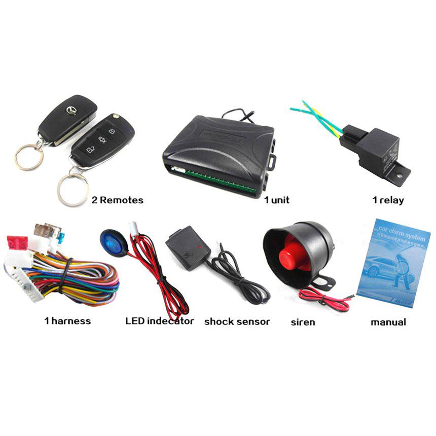 ✸BC✸Key to Auto Electronic Accessories Anti-theft Device