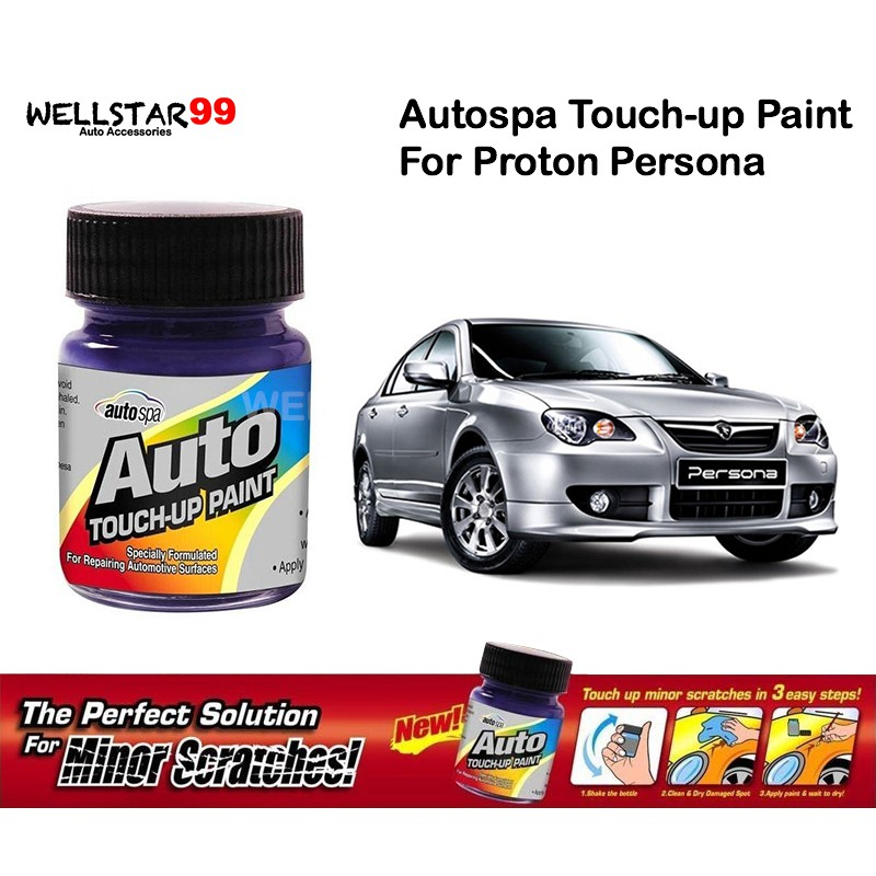 Autospa Touch Up Paint For Proton Persona (Paint Only) 18mL