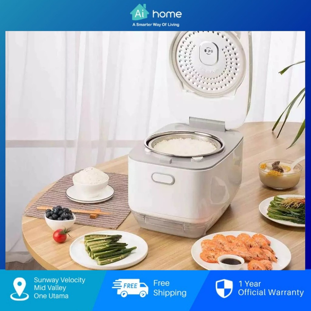 Zhenmi Desalted Steamer Health Mini Rice Cooker Pot X3 - Electric Pressure | Rice Soup Separation Technology [ Aihome ]