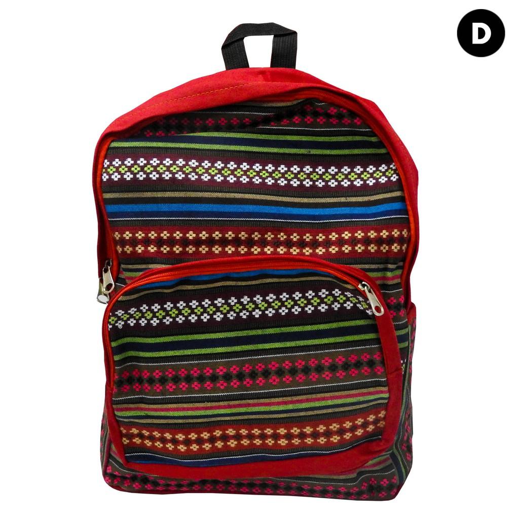 Ladies Haversack Bag Red (D)