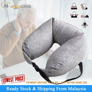 Helpful U Shape Hooded Car Travel Pillow Neck Pillow To Ease Fatigue Auto Headrest Support For Car Office Home Chair Convenience Goods Neck Pillow