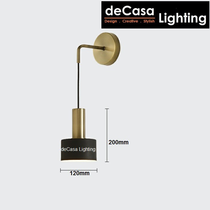 DECASA LIGHTING Wall Light E27 Wall Lighting Best Seller indoor Wall Lamp Designer Nordic Style Lampu Dinding (106)
