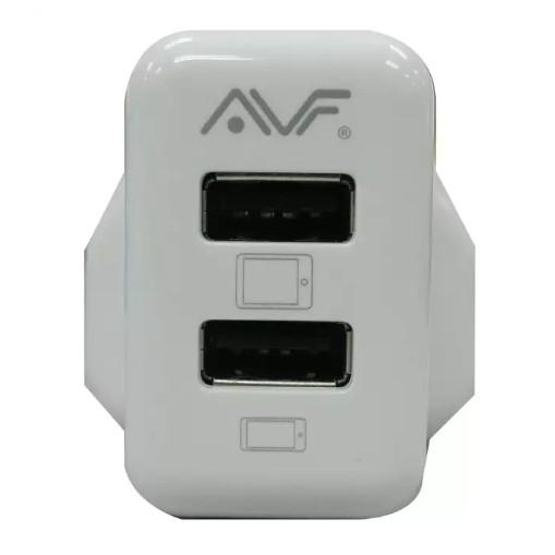 AVF Twin Port USB Power Adapter (UK Type) 10W/2.1A AUTA05