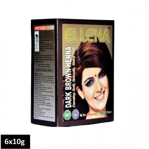 Ellena Dark Brown Henna (6 sachets x 10g)