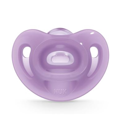 Nuk: Sensitive Soft Silicone Soother - 6-18 months (1pc) (Pacifier)
