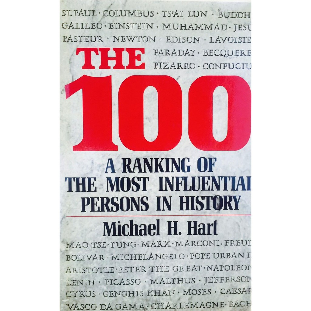 The 100: A Ranking Of The Most Influential Persons In History by Michael H.  Hart | Shopee Malaysia